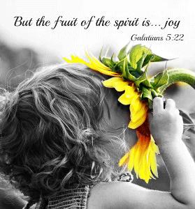 joy in life bible verse quote