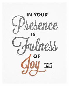 possessing the secret of joy filled life
