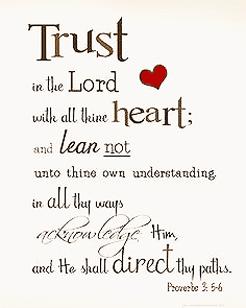 joy life love trust